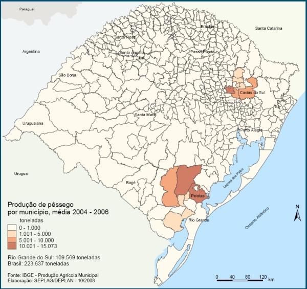 mapa SUL